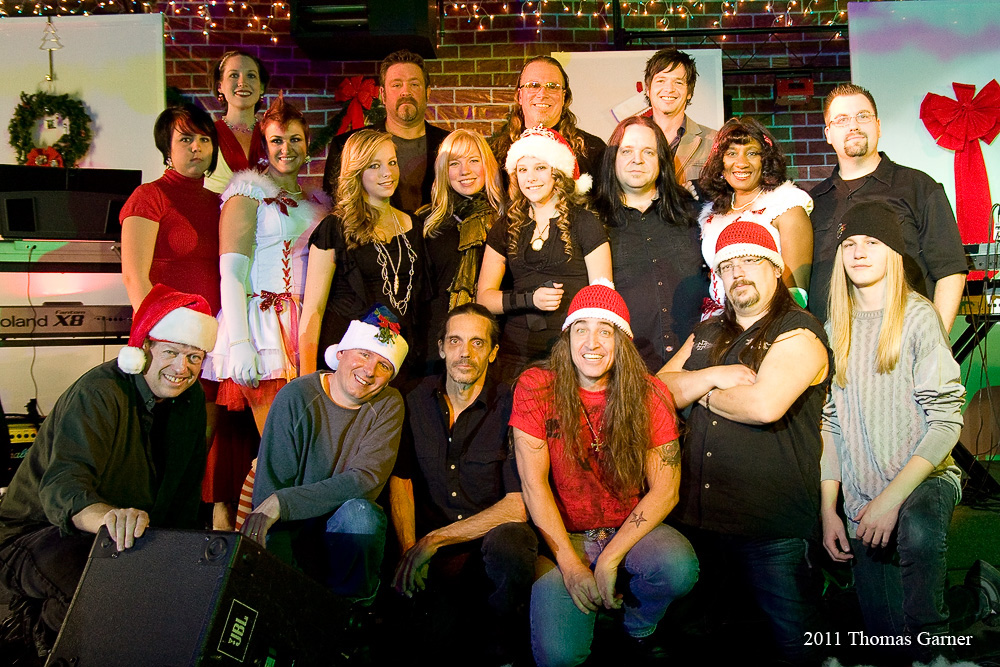 Artists performing during Christmas Jam 2011