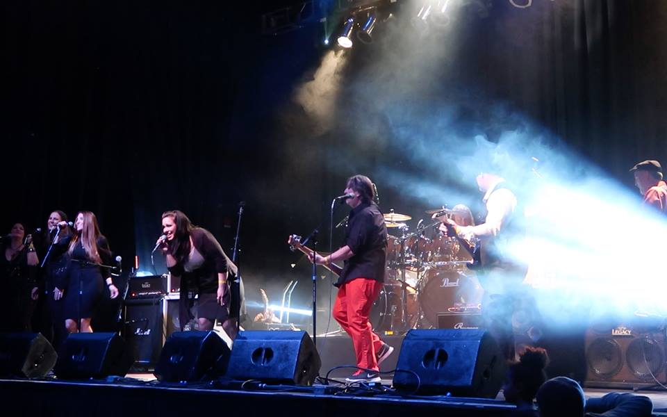 Artists performing during Christmas Jam 2016